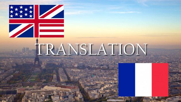 traduire votre document de l'anglais au français