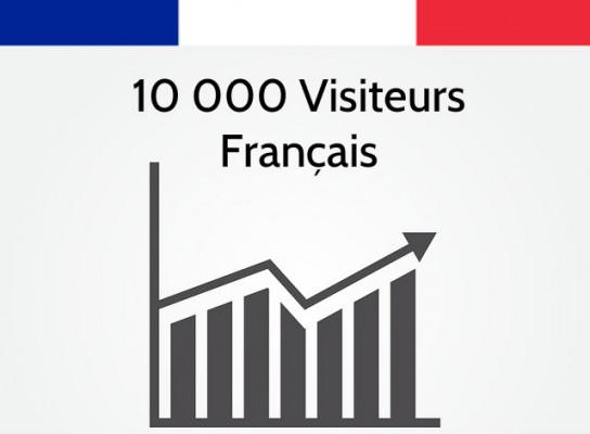 vous donner 5 000 réels visiteurs Français