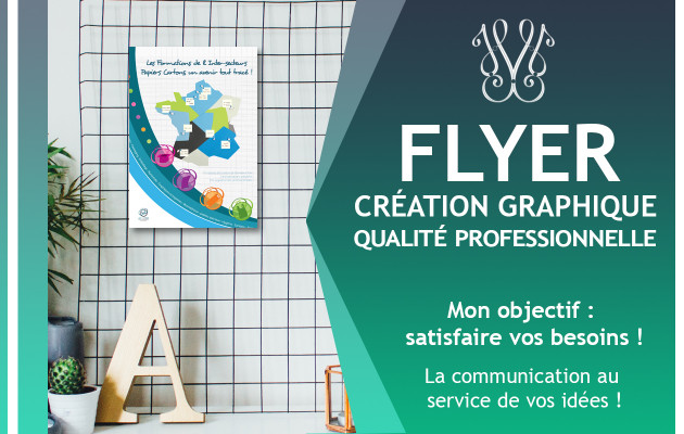 créer un flyer professionnel