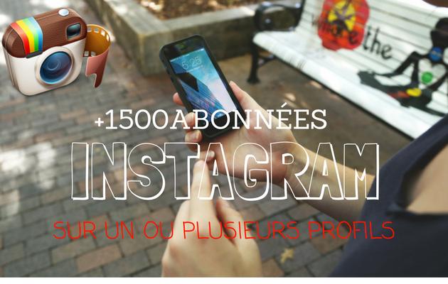 vous  fournir 1500 abonnés réels sur votre compte Instagram