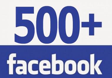 """vous envoyer 500 """"j'aime"""" sur facebook"""