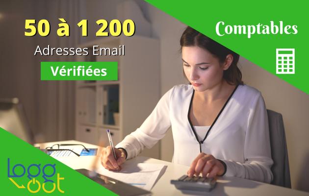 vous fournir les emails de comptables français