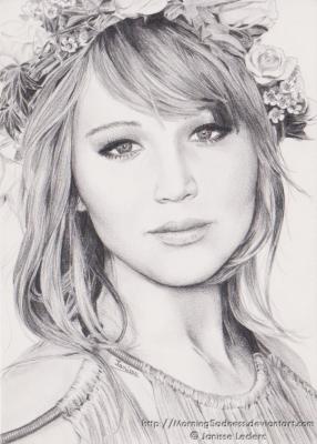 dessiner un portrait au graphite