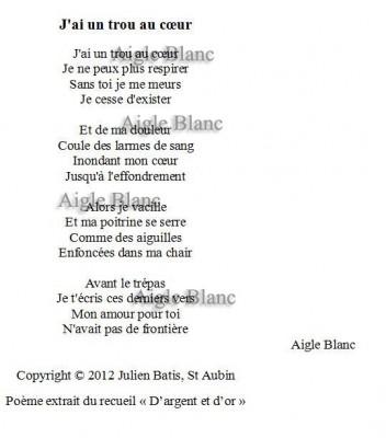 Je Vais écrire Un Poème Damour Personnalisé Pour Vous Pour 5