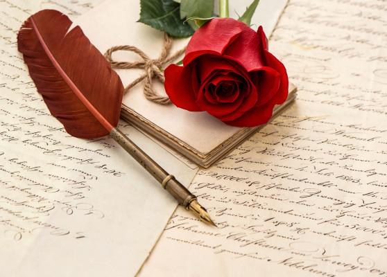 écrire un poème d'amour inoubliable