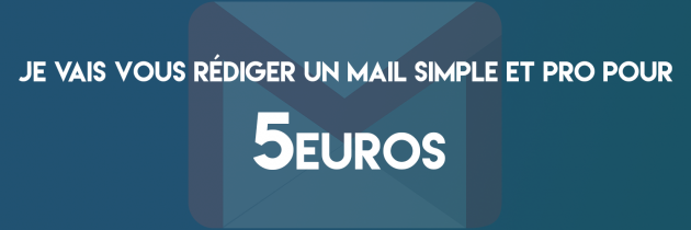 rédiger un mail simple et pro