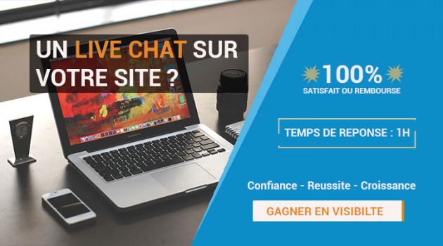 intégrer un Live Chat support sur votre site web