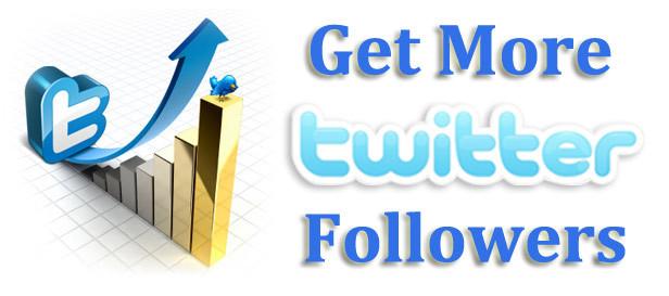 vous fournir 100 followers / Retweets Twitter pour 5 €
