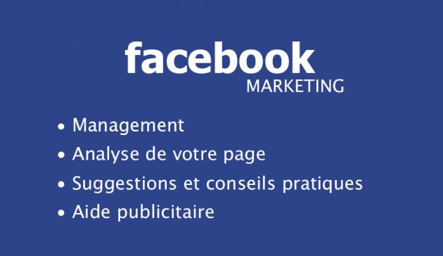 vous aider à promouvoir et améliorer votre page Facebook