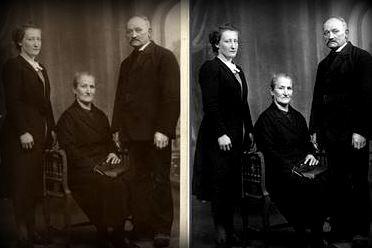 restaurer votre vieille photo de famille