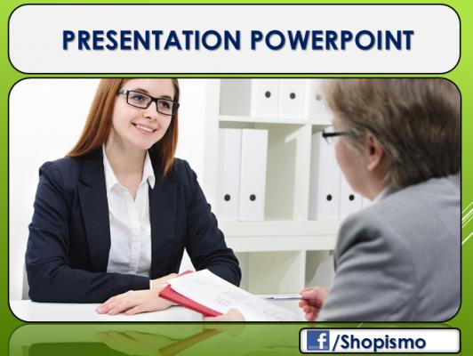 vous faire un document Powerpoint professionnel