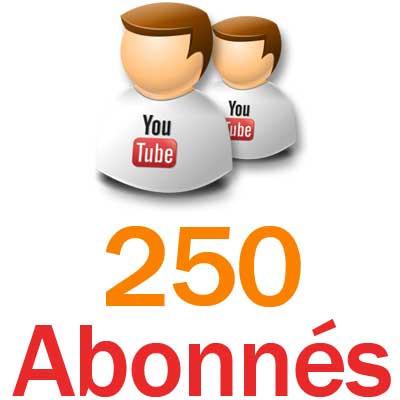 ajouter 500 abonnés à votre chaîne YouTube