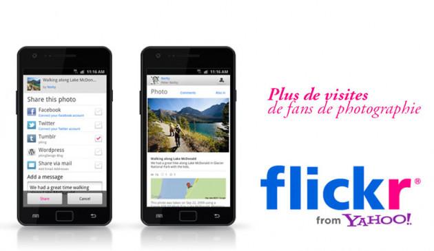 promouvoir votre Flickr