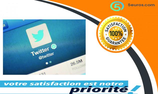 vous créer 5 comptes Twitter vérifier et confirmé