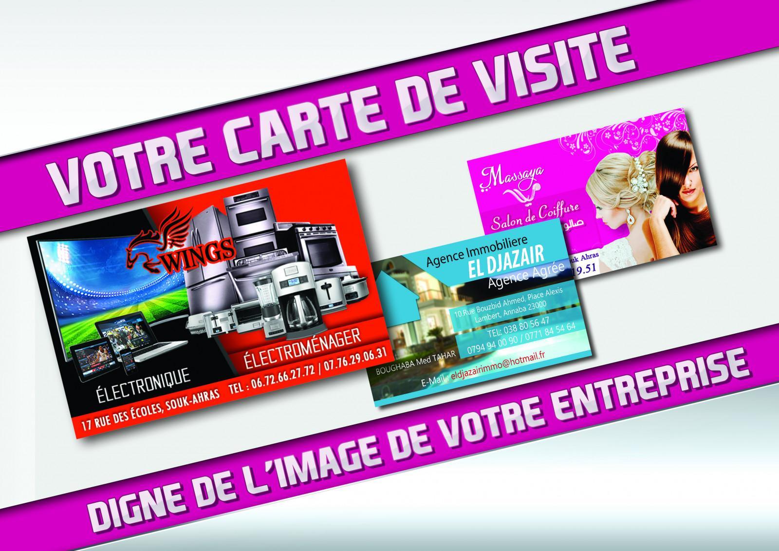 Je Vais Crer Votre Carte De Visite Sur Mesure Pour 5 EUR